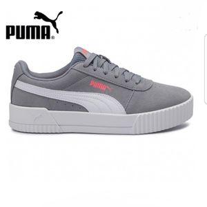PUMA Carina Suede Tradewinds/Puma White 11
